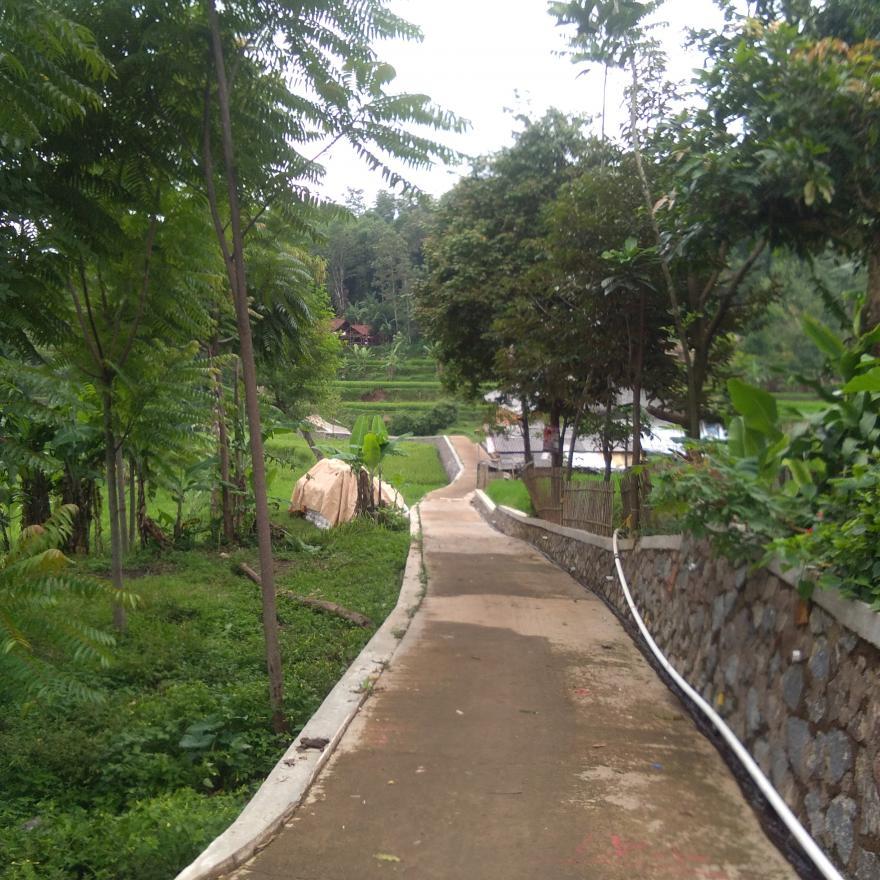 Jalan penhubung ke Pasirkadu gambar terbaru